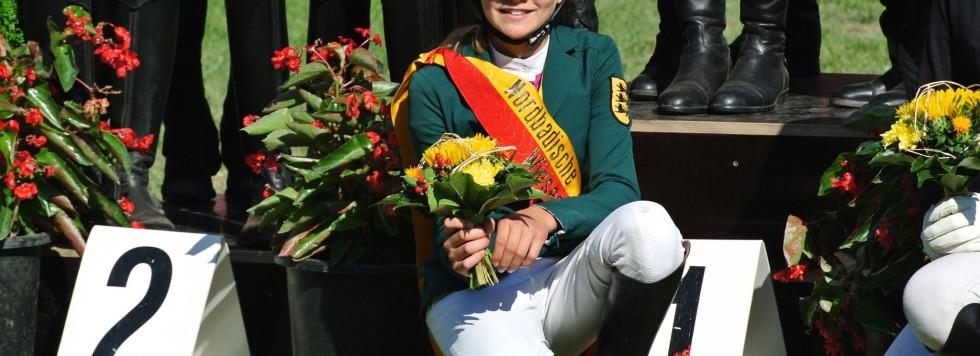 Theresa Volckmann ist Nordbadische-Meisterin!