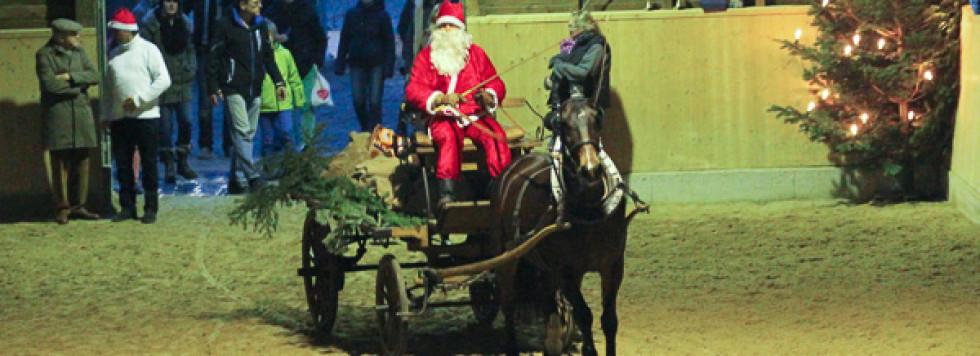 Bilder vom Weihnachtsreiten
