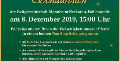 Weihnachtliches Schauprogramm 2019