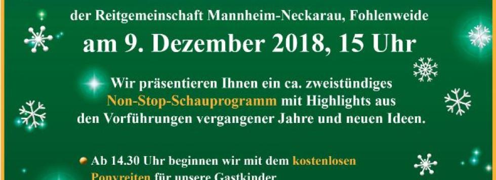 Weihnachtsreiten 2018